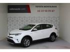 Toyota RAV 4 HYBRIDE 197ch 2WD Dynamic Blanc 2016 - annonce de voiture en vente sur Auto Sélection.com