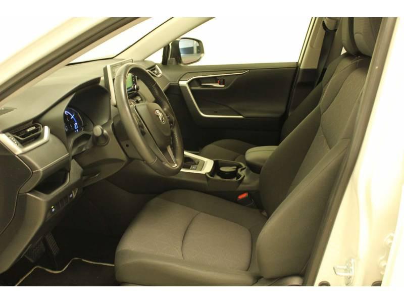 Toyota RAV 4 HYBRIDE 218 ch 2WD Dynamic Blanc occasion à Cahors - photo n°11