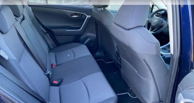 Toyota RAV 4 Hybride 218ch Dynamic 2WD Bleu occasion à Colmar - photo n°7