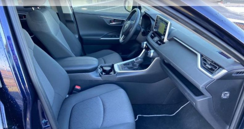 Toyota RAV 4 Hybride 218ch Dynamic 2WD Bleu occasion à Colmar - photo n°6