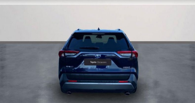 Toyota RAV 4 Hybride 218ch Dynamic 2WD Bleu occasion à Colmar - photo n°4
