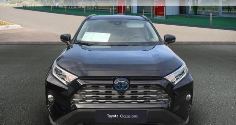 Toyota RAV 4 Hybride 218ch Lounge 2WD Noir occasion à Tours - photo n°5