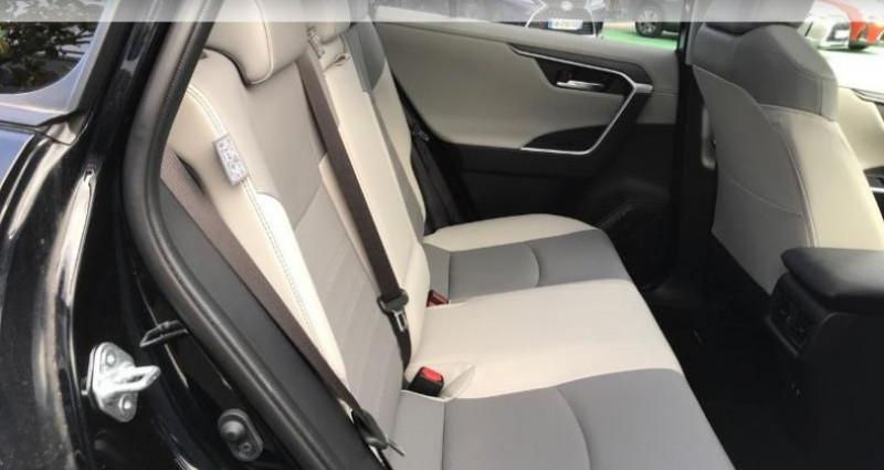 Toyota RAV 4 Hybride 218ch Lounge 2WD Noir occasion à Tours - photo n°7