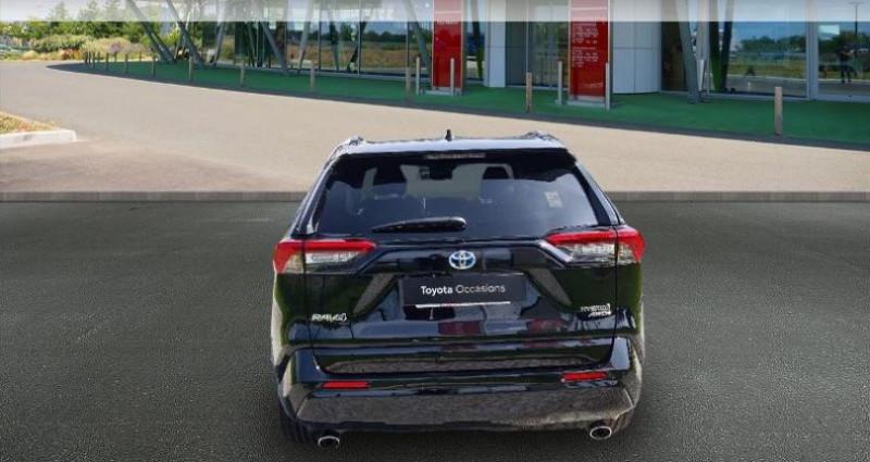 Toyota RAV 4 Hybride 222ch Black Edition AWD-i MY21 Noir occasion à Hoenheim - photo n°4