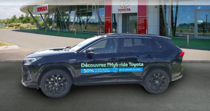 Toyota RAV 4 Hybride 222ch Black Edition AWD-i MY21 Noir occasion à Hoenheim - photo n°3