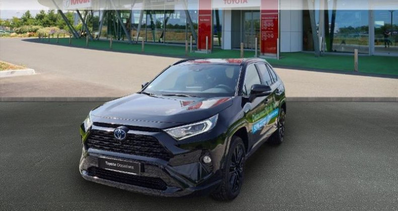 Toyota RAV 4 Hybride 222ch Black Edition AWD-i MY21 Noir occasion à Hoenheim
