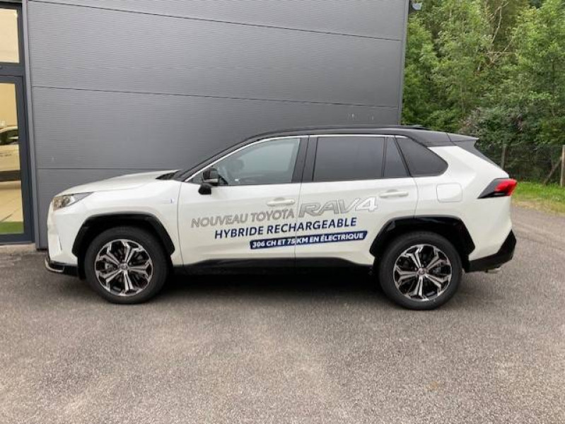 Toyota RAV 4 RAV4 Hybride Rechargeable AWD Collection 5p Blanc occasion à Tulle