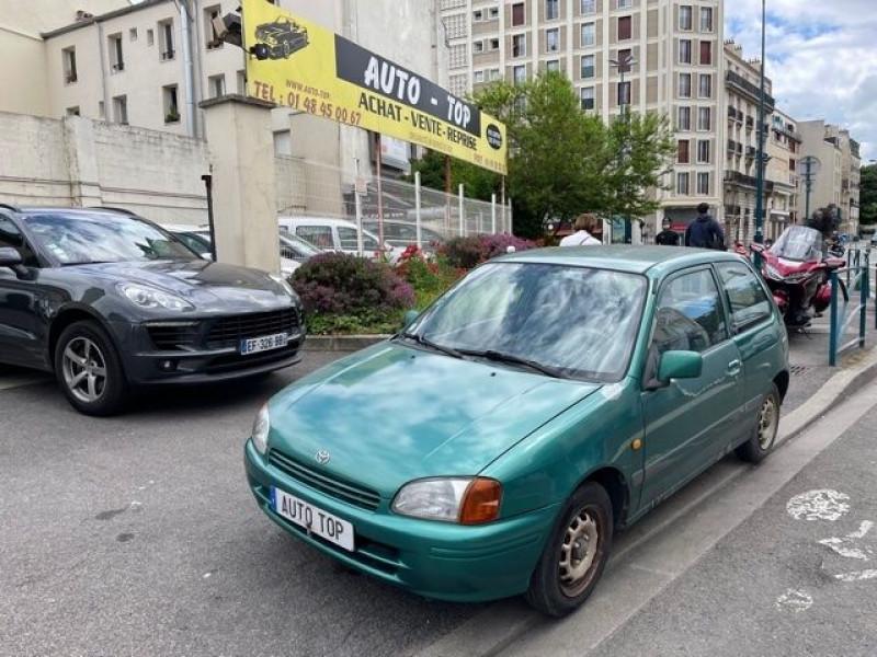 Toyota Starlet 1.3 75CH GL 3P Vert occasion à Pantin