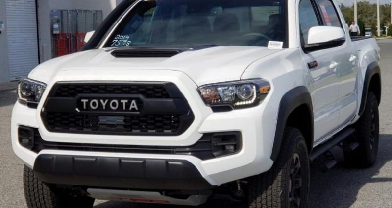 Toyota Tacoma Trd pro Blanc occasion à PONTAULT COMBAULT