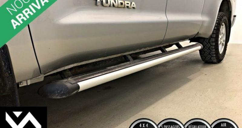 Toyota Tundra Grade double cab 5.7l 4wd 2013 prix tout compris hors homolo Gris occasion à PONTAULT COMBAULT - photo n°7