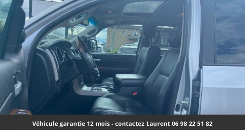 Toyota Tundra Platinum crewmax 5.7l 4wd prix tout compris hors homologatio Gris occasion à PONTAULT COMBAULT - photo n°2