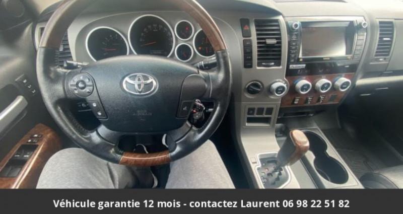 Toyota Tundra Platinum crewmax 5.7l 4wd prix tout compris hors homologatio Gris occasion à PONTAULT COMBAULT - photo n°3