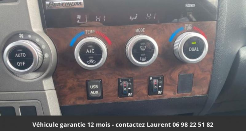 Toyota Tundra Platinum crewmax 5.7l 4wd prix tout compris hors homologatio Gris occasion à PONTAULT COMBAULT - photo n°6