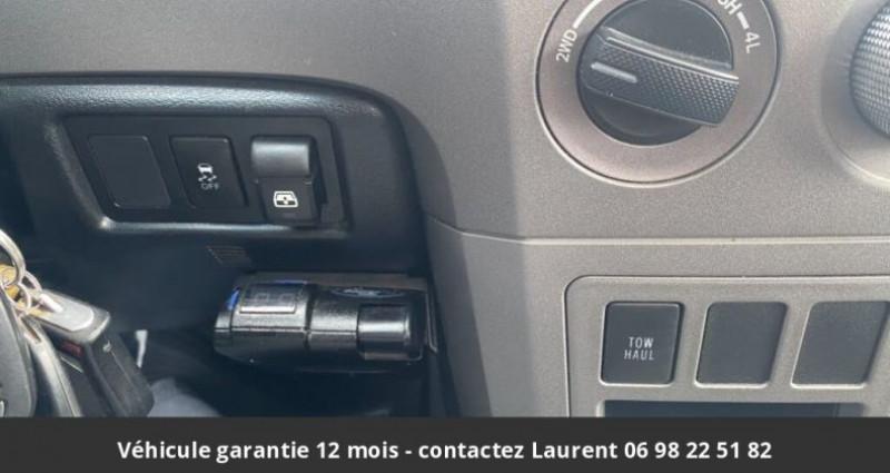Toyota Tundra Platinum crewmax 5.7l 4wd prix tout compris hors homologatio Gris occasion à PONTAULT COMBAULT - photo n°5