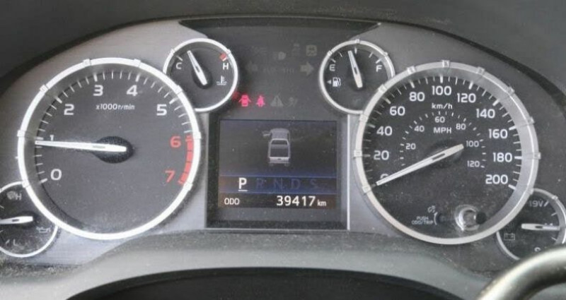 Toyota Tundra Sr 5.7l 4wd 2014 prix tout compris hors homologation 4500 ? Gris occasion à Paris - photo n°2