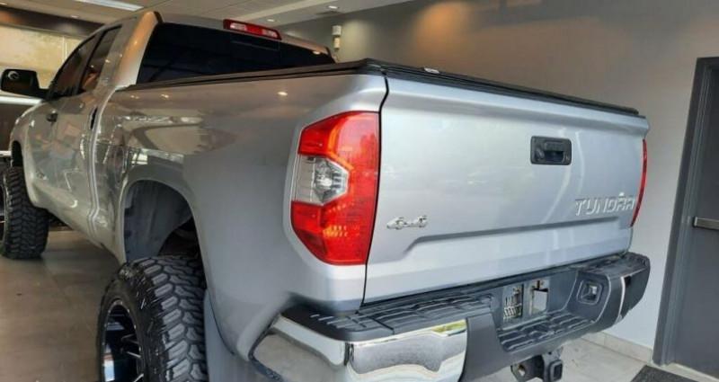 Toyota Tundra Sr double cab 5.7l 4wd 2014 prix tout compris hors homologat Gris occasion à Paris - photo n°6