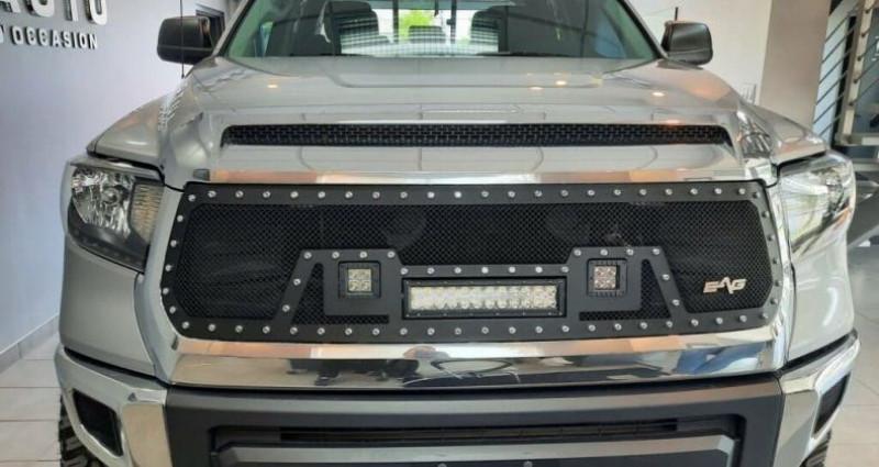Toyota Tundra Sr double cab 5.7l 4wd 2014 prix tout compris hors homologat Gris occasion à Paris - photo n°2