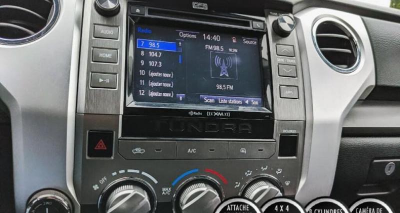 Toyota Tundra Sr double cab 5.7l 4wd 2015 prix tout compris hors homologat Gris occasion à PONTAULT COMBAULT - photo n°5