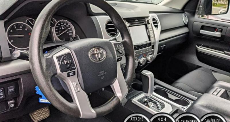 Toyota Tundra Sr double cab 5.7l 4wd 2015 prix tout compris hors homologat Gris occasion à PONTAULT COMBAULT - photo n°2