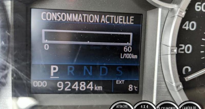 Toyota Tundra Sr double cab 5.7l 4wd 2015 prix tout compris hors homologat Gris occasion à PONTAULT COMBAULT - photo n°6