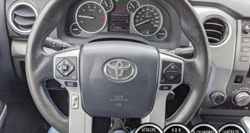 Toyota Tundra Sr double cab 5.7l 4wd 2015 prix tout compris hors homologat Gris occasion à PONTAULT COMBAULT - photo n°7