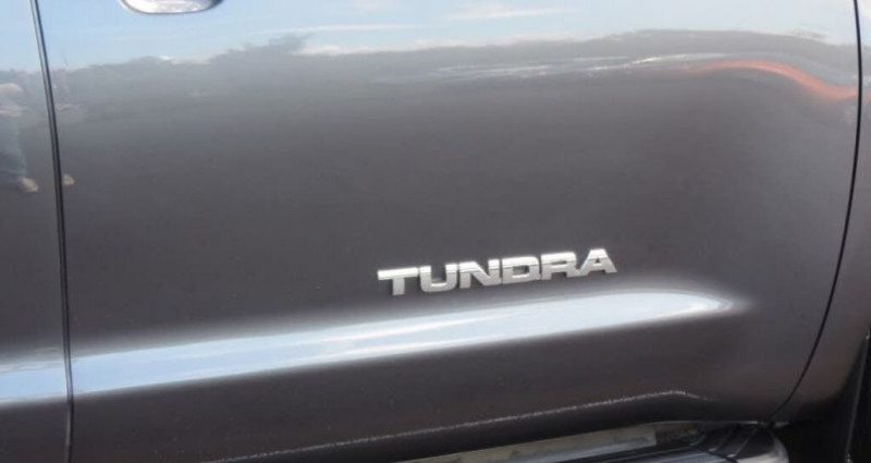 Toyota Tundra Sr5 double cab 4.6l 2012 prix tout compris hors homologation Gris occasion à Paris - photo n°4