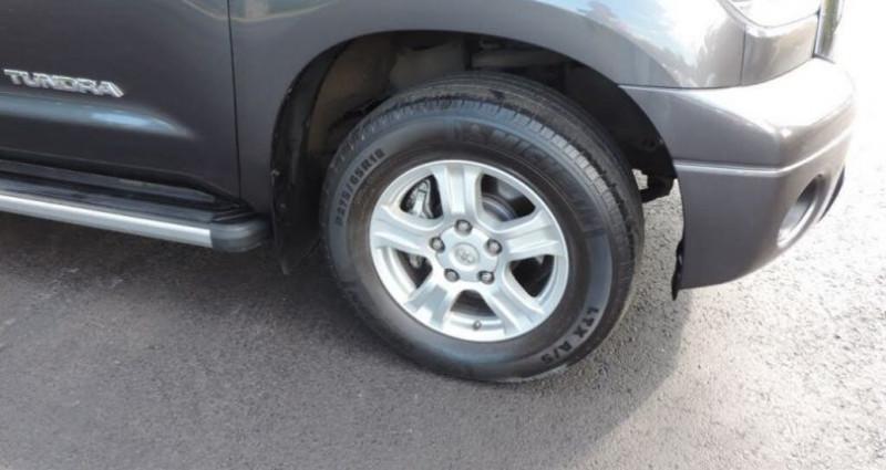 Toyota Tundra Sr5 double cab 4.6l 2012 prix tout compris hors homologation Gris occasion à Paris - photo n°2