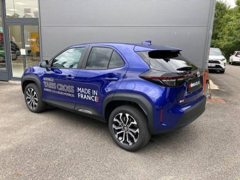 Toyota Yaris Cross Yaris Cross Hybride 116h 2WD Design 5p Bleu occasion à Tulle - photo n°2