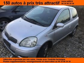 Toyota Yaris Gris, garage VOITURE PAS CHERE RHONE ALPES à Saint-Bonnet-de-Mure