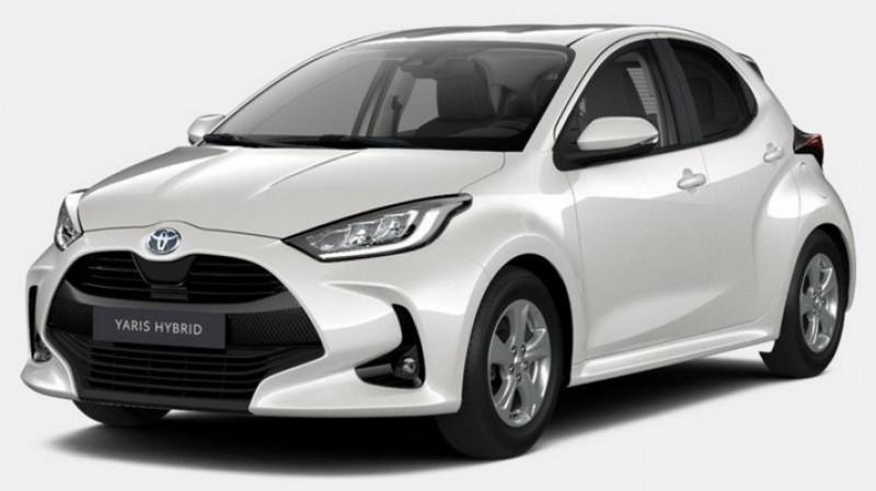 Toyota Yaris 1.5 hybride 116cv e-cvt design + sieges chauffants Blanc occasion à Ganges
