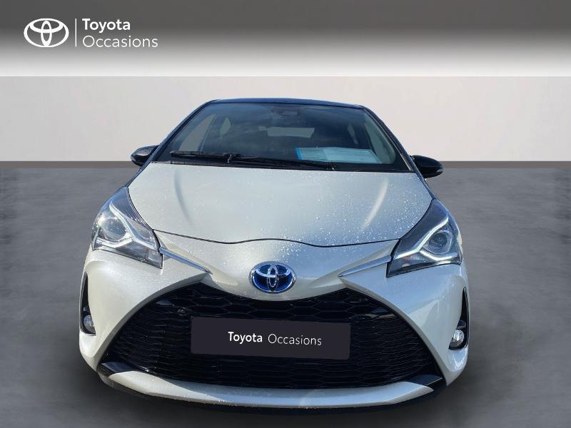 Toyota Yaris 100h Collection 5p MY19 Blanc occasion à NOYAL PONTIVY - photo n°2