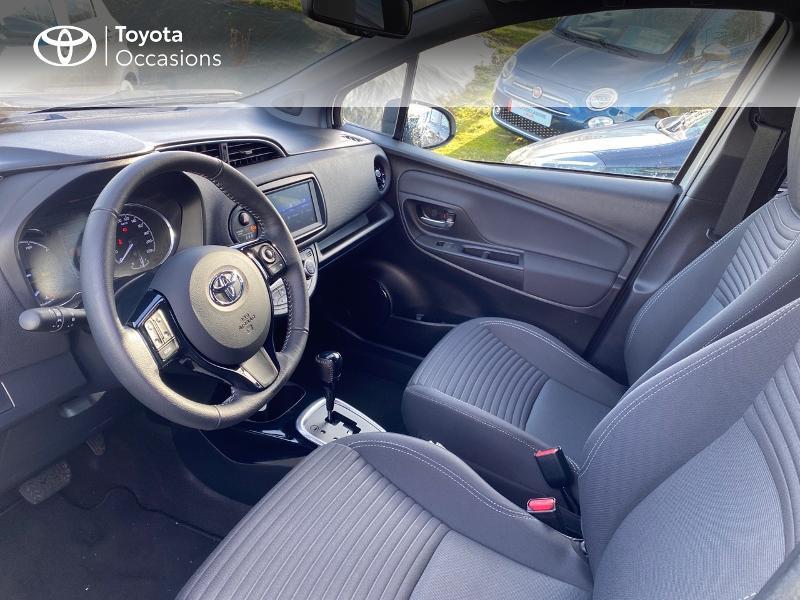 Toyota Yaris 100h Collection 5p MY19 Blanc occasion à NOYAL PONTIVY - photo n°5