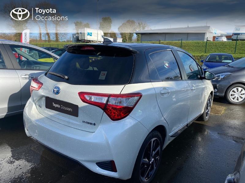 Toyota Yaris 100h Collection 5p MY19 Blanc occasion à NOYAL PONTIVY - photo n°7