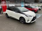 Toyota Yaris 100h Collection 5p MY19 Blanc à NOYAL PONTIVY 56