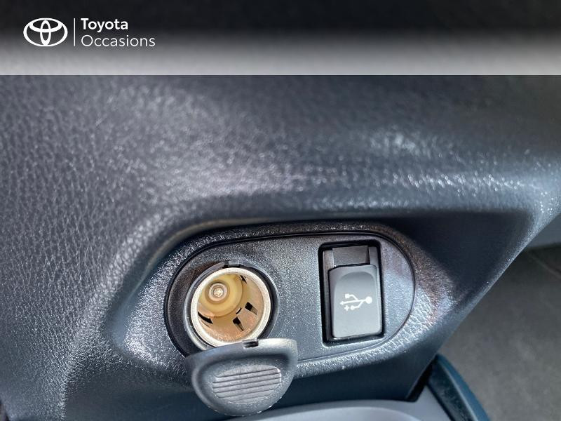 Toyota Yaris 100h Collection 5p MY19 Blanc occasion à NOYAL PONTIVY - photo n°16
