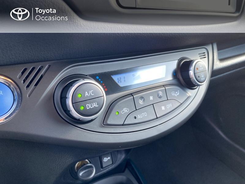 Toyota Yaris 100h Collection 5p MY19 Blanc occasion à NOYAL PONTIVY - photo n°9