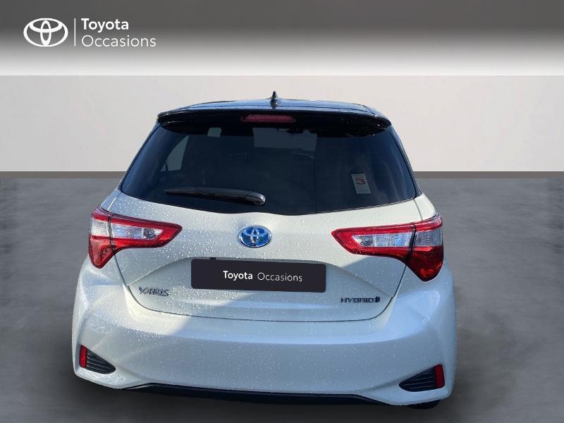 Toyota Yaris 100h Collection 5p MY19 Blanc occasion à NOYAL PONTIVY - photo n°8