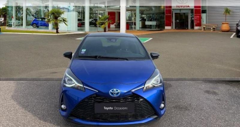 Toyota Yaris 100h Collection 5p Bleu occasion à Laxou - photo n°5