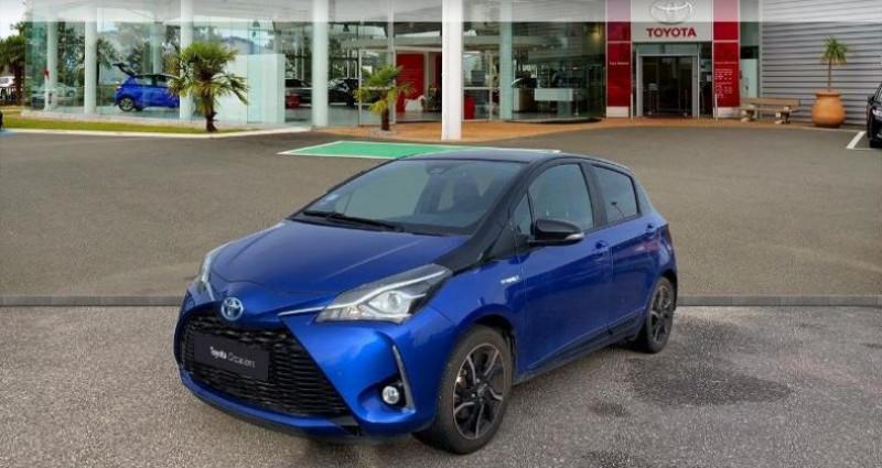 Toyota Yaris 100h Collection 5p Bleu occasion à Laxou