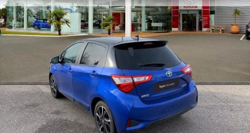 Toyota Yaris 100h Collection 5p Bleu occasion à Laxou - photo n°2