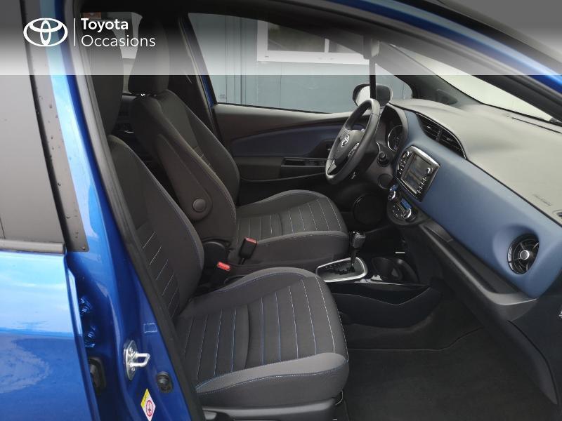 Toyota Yaris 100h Collection 5p Bleu occasion à Saint-Jouan-des-Guérets - photo n°6