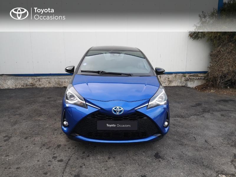 Toyota Yaris 100h Collection 5p Bleu occasion à Saint-Jouan-des-Guérets - photo n°5