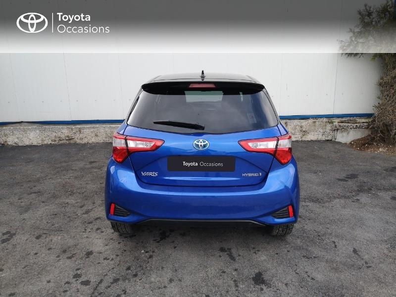 Toyota Yaris 100h Collection 5p Bleu occasion à Saint-Jouan-des-Guérets - photo n°4