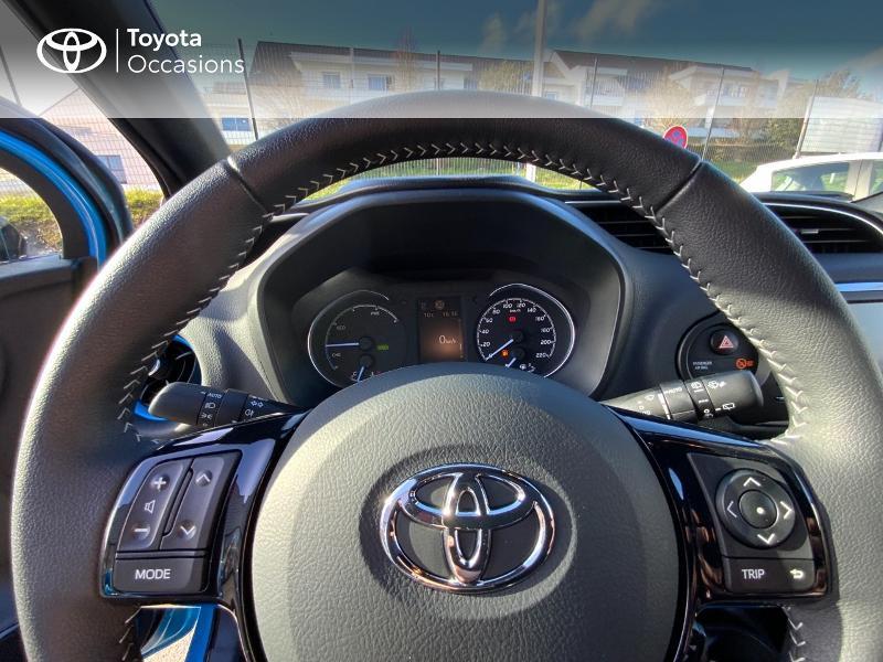 Toyota Yaris 100h Cyan Edition 5p RC18 Bleu occasion à Pluneret - photo n°13