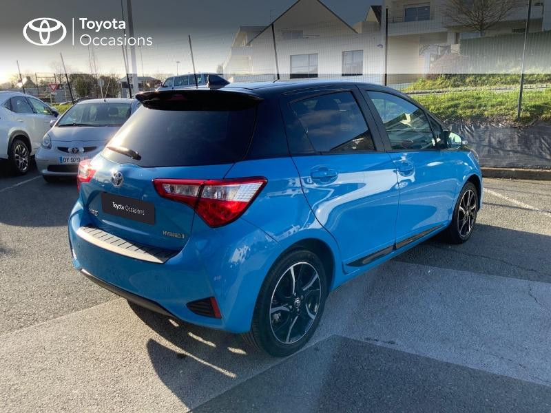 Toyota Yaris 100h Cyan Edition 5p RC18 Bleu occasion à Pluneret - photo n°18