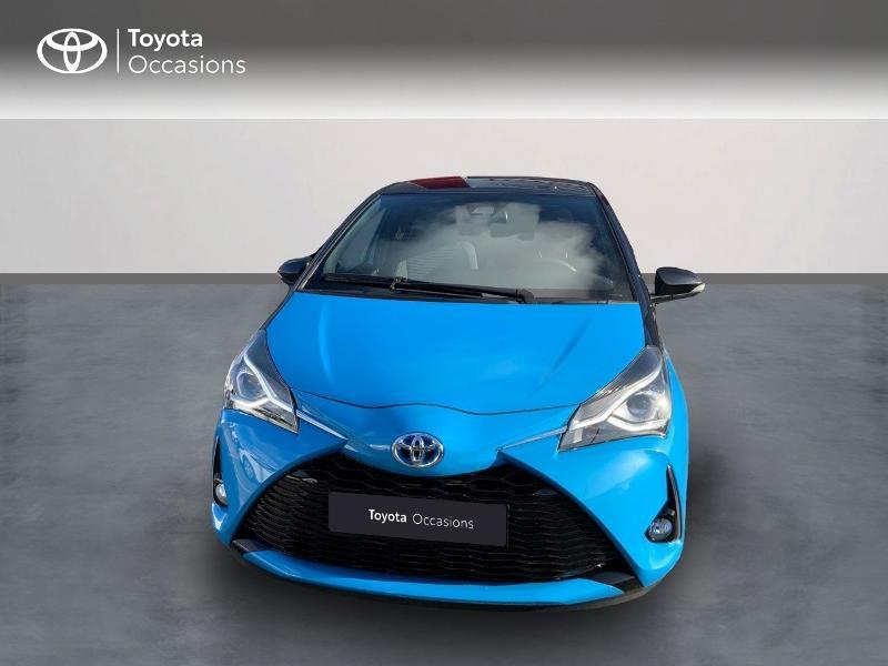 Toyota Yaris 100h Cyan Edition 5p RC18 Bleu occasion à Pluneret - photo n°5
