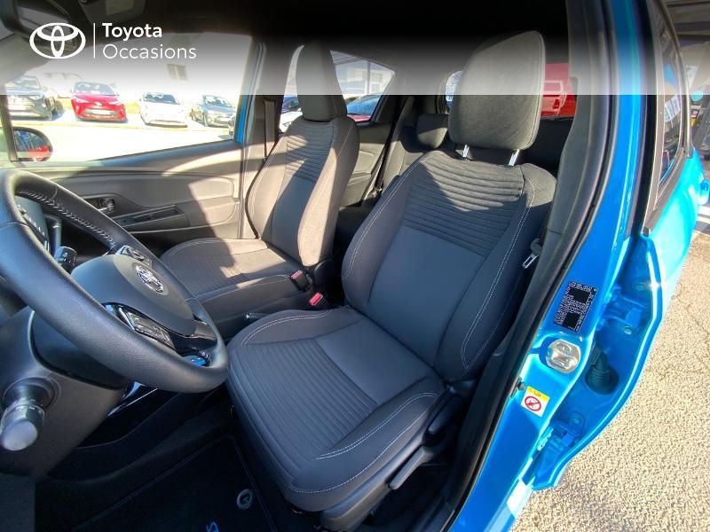 Toyota Yaris 100h Cyan Edition 5p RC18 Bleu occasion à Pluneret - photo n°11