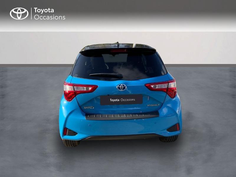 Toyota Yaris 100h Cyan Edition 5p RC18 Bleu occasion à Pluneret - photo n°4
