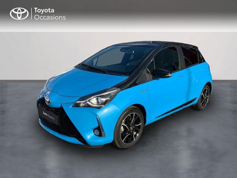 Toyota Yaris 100h Cyan Edition 5p RC18 Bleu occasion à Pluneret