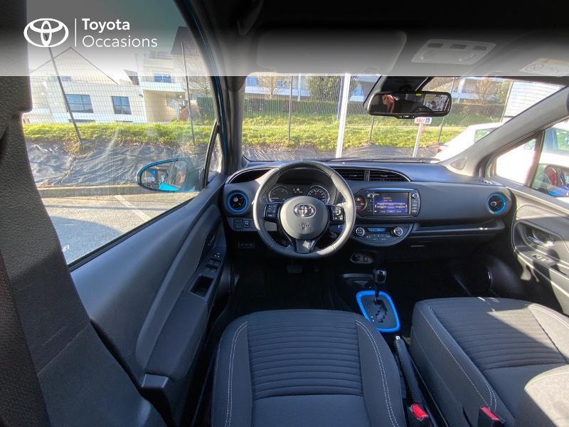 Toyota Yaris 100h Cyan Edition 5p RC18 Bleu occasion à Pluneret - photo n°9